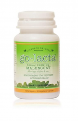 Go-Lacta Premium Malunggay (Moringa oleifera Lam.) Breastfeeding Supplement Clinically Proven to Support Lactation